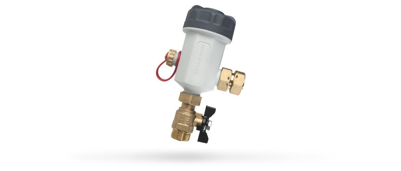 Fdm 1p prodotti per il circuito di riscaldamento filtri for Atlas filtri anticalcare