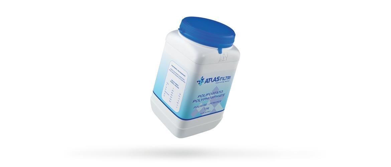 Polifosfato in polvere sistemi anticalcare ricariche for Atlas filtri anticalcare